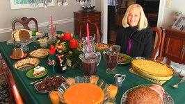 Betty's Christmas Dinner Table, 2015