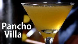 Pancho Villa Cocktail / Tequila And Three Chile Syrup