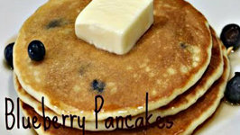 Blueberry Pancakes - Easy Breakfast Recipe