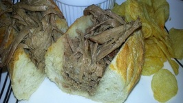 Crockpot French Dip - Easy French Dip