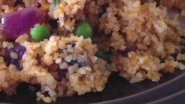 Bulgur Pilaf Healthy Lunch Ideas Burgol