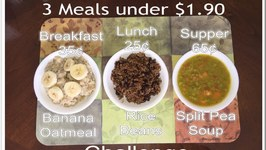 3 Meals under 1.90 Challenge FeedOne AFCAids.org