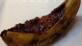 Grilled Bananas on the Weber Kettle