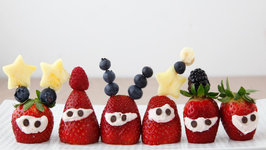 Strawberry Aliens - Healthy Snacks for Kids