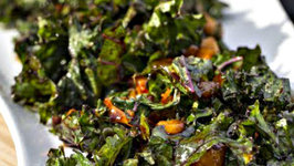 Miso Mango Kale Salad