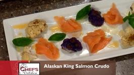 Banks-Alaskan King Salmon Crudo