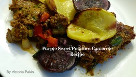Purple Sweet Potatoes Casserole