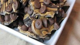 Chocolate Peanut Butter Cup Bark
