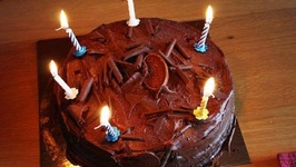 Ghirardelli Chocolate Cake