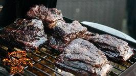Texas Style Beef Short Ribs On The Weber Go-Anywhere
