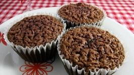 Chocolate Cherry Brownie Cups