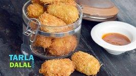 Crunchy Paneer Rolls