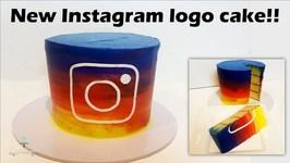 New Instagram Logo Cake!