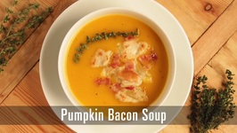 90 Second Pumpkin Bacon Soup