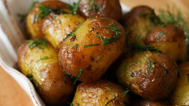 How To Make Rissole Potatoes - Buttery Fried Baby Potatoes