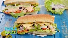 Veg Sub Sandwich