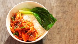 Rice With Bokchoy and Prawns  Delicious Recipe
