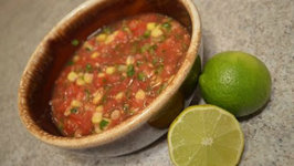 How to Make Fresh Corn and Tomato Salsa