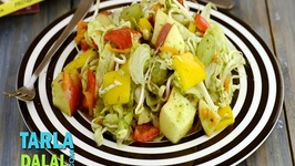 Apple and Lettuce Salad with Melon Dressing (Fibre and Vitamin Rich)