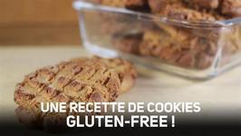 Des cookies au beurre de cacahute sans gluten en 60s