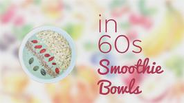 How to in 60 seconds: Mocha and Almonds Smoothie Bowl