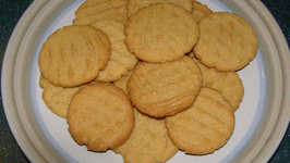 Half Fat Butter Cookies