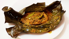 Fish paturi - Steamed Fish - fish in Banana leaf - Bengali Fish - Bengali New Year