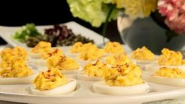 90 Second Easy Deviled Eggs