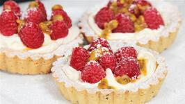 How To Make Raspberry And Passion Fruit Tarts