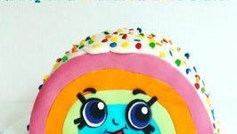 Shopkins Rainbow Bite Cake