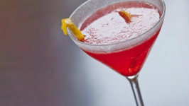 Seasonal Lemon Drop Cocktail
