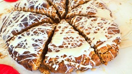 Breakfast Recipe- Frosted Gingerbread Scones