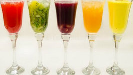 5 Drinks and Mocktails Recipe - Five Easy Refreshing Colorful Holi Recipes
