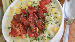 Southern Creamed Corn With Bacon