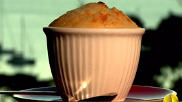Easy Raspberry and Yoghurt Souffles