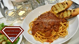 Slow Cooker Italian Sausage Ragu And Bucatini Pasta