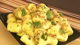 How to Make Khandvi Chickpea Flour Rolls