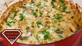 Creamy Chicken Tetrazzini / Casserole Recipe