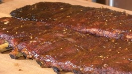 BBQ Spareribs with Apple Butter Sauce