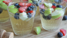 Sparkling Fruity Champagne Punch