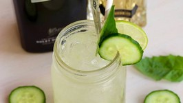 Cocktail Recipe: Basil Cucumber Gin Smash by