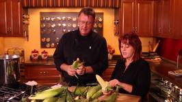 Corn Shucking And Freezing