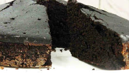 Chocolate Sponge Cake - For Pastries - Layered Cakes - In Cooker - Vegan - Eggless Baking Without Oven