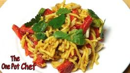 Peanut Satay Noodle Salad