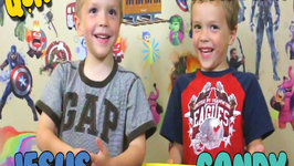 Get to Know Crazy Twins Eli and Liam  Q & A about Kids Candy and Toys