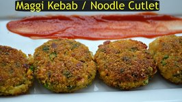 Maggi Cutlet Maggi Kebob Appetizer Innovative No potato Indian Crispy Snack by CK Epsd. 337