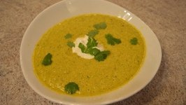 How To Make Cantaloupe And Cucumber Gazpacho