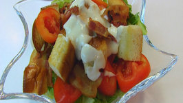 Betty's BLT Salad with Creamy Parmesan Dressing
