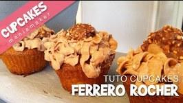 Recette Cupcakes au Ferrero Rocher
