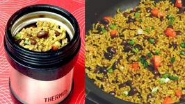 Hot Lunch Black Beans And Brown Rice